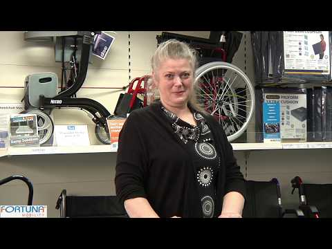 How to fold a Southbury Powered Wheelchair
