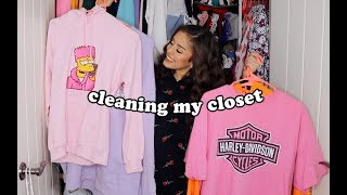 Clean My Closet With Me