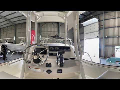Boston Whaler 210 Montauk video