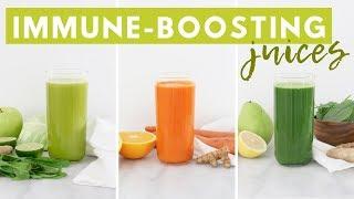 3 Immune Boosting Juices + JUICER GIVEAWAY! Healthy Grocery Girl