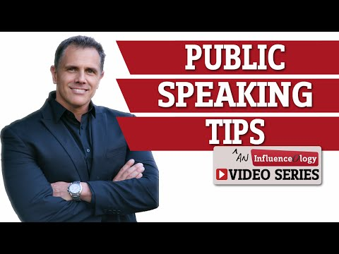 Public Speaking Tips And Presentation Training: Delivery Skills