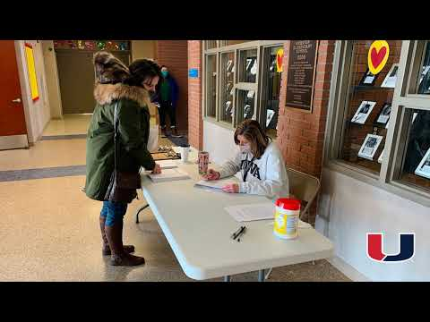 Urbandale CSD's 1st MercyOne On-Site COVID-19 Vaccination Clinic 2.13.20