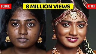 SOUTH INDIAN MAKEUP LOOK FOR DARK SKIN - Download this Video in MP3, M4A, WEBM, MP4, 3GP
