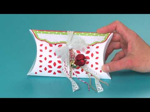 DIY Sizzix Big Shot Plus Value Kit Holiday Pillow Box