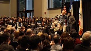 More than 2000 attend vigil for Nohemi Gonzalez