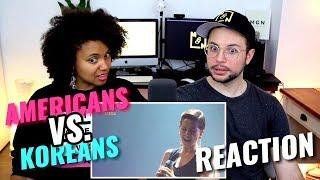 Americans VS. Koreans - High Belt Notes Singers | REACTION