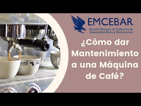 ¿Cómo Dar Mantenimiento A Una Máquina De Café?