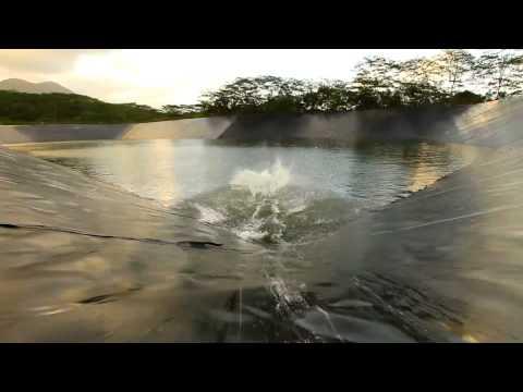 Reservoir Converted Into World's Largest Slip 'N' Slide