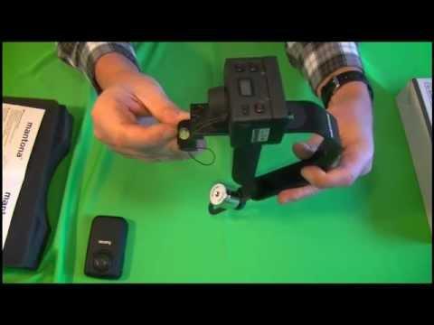 Mantona Schwebestativ für Action Cams - Rollei - GoPro Hero