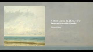 4 Album Leaves, Op. 28