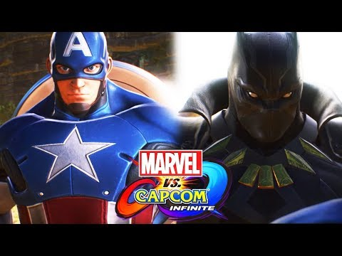 MARVEL vs. CAPCOM: INFINITE All Cutscenes (Game Movie) 1080p HD