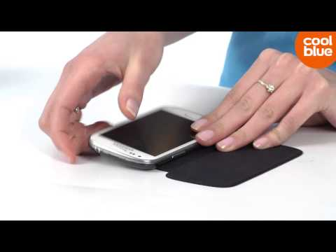 Samsung Galaxy S III Mini Flip Cover case videoreview (NL/BE)