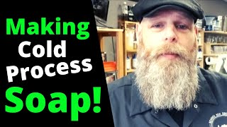How To Make Simple Cold Process Soap - Easy!