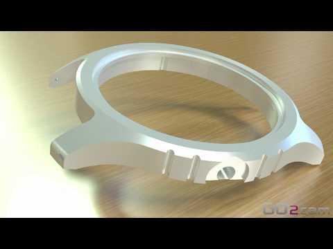 GO2cam V6.05 für die Uhrenindustrie 1/3