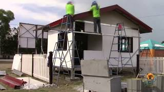 Build in just One day! - Bahay Makabayan