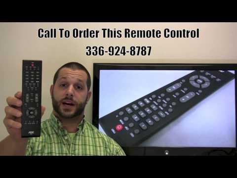 AOC RL57A TV Remote Control