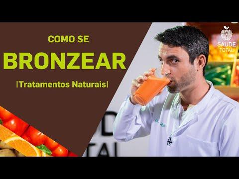 Como fazer bronzeamento natural |Receitas Naturais | Saúde Total