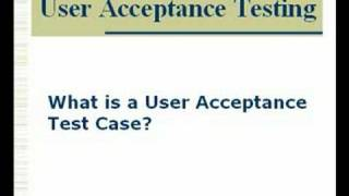 User Acceptance Testing in Software Testing Projects