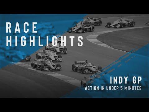 佐藤琢磨は16位。インディーカー第5戦インディカー・インディアナポリス 決勝レースハイライト動画