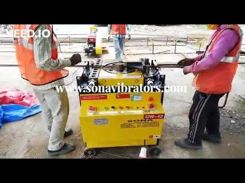 Sona Bar Bending Machine GW42- 32mm.