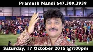 MOST POPULAR  TRADITIONAL RAAS GARBA RAMZAT. 2015. PRAMESH NANDI's RAAS GARBA 2015.
