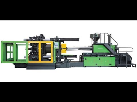 BORCHE BU 1800 İki Plakalı Plastik Enjeksiyon Makinesi-2