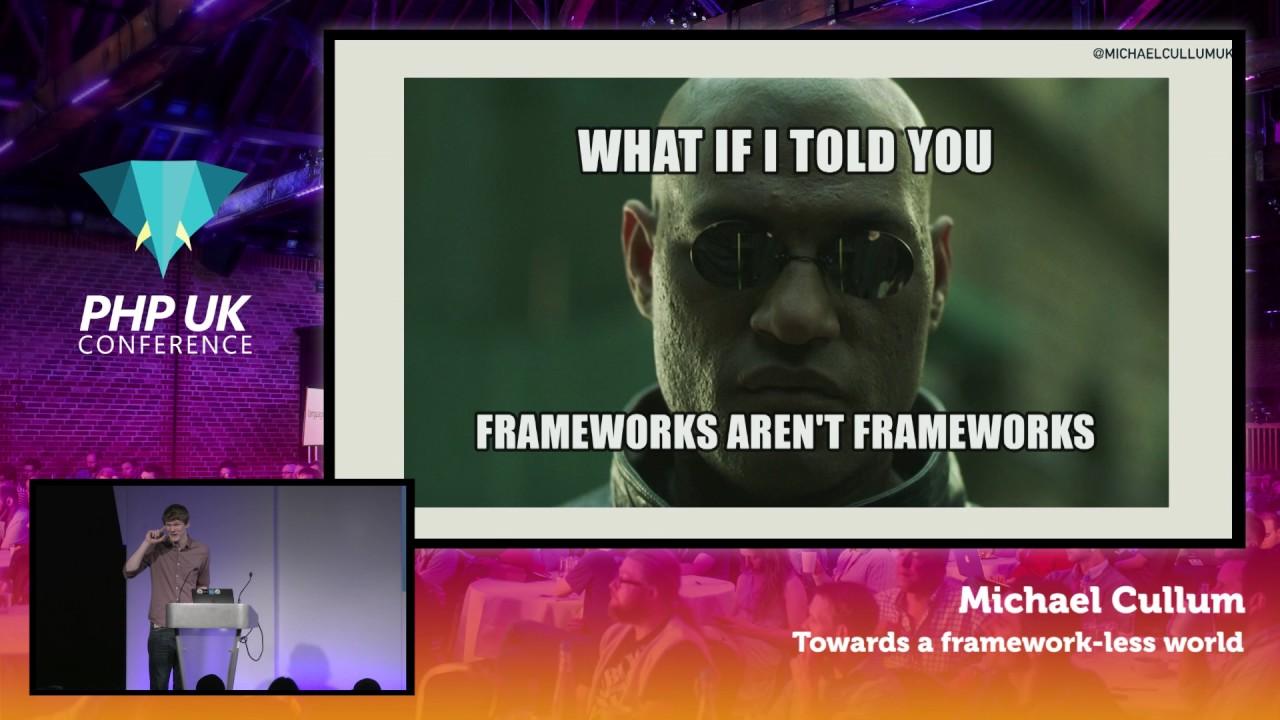 Towards a frameworkless world...