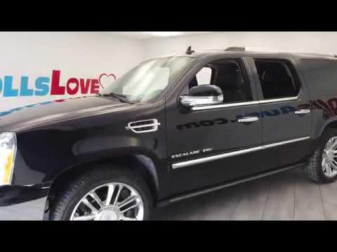 Pre-Owned 2013 Cadillac Escalade ESV 4D Platinum AWD V8