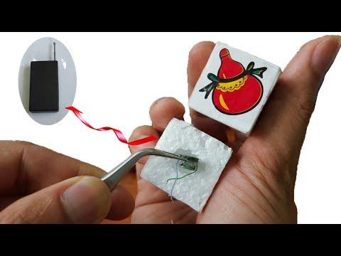 Cách Làm Hột Bầu Cua Bịp-Hột Bầu Cua Báo Rung 6 Mặt