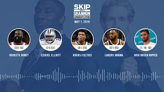 UNDISPUTED Audio Podcast (05.01.19) with Skip Bayless, Shannon Sharpe & Jenny Taft | UNDISPUTED