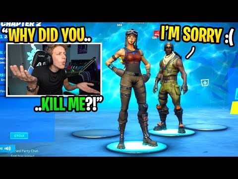I died to an AERIAL ASSAULT TROOPER then added him next game... (I confronted him)
