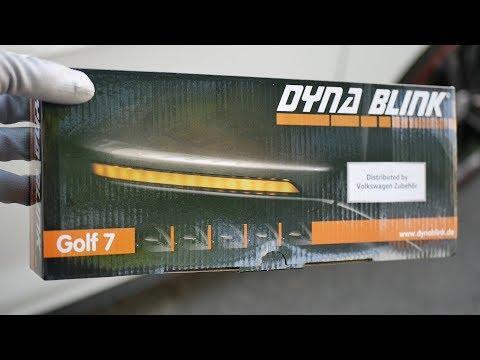 VW GOLF 7 GTI FACELIFT Einbau dynamische Spiegelblinker / bCreative