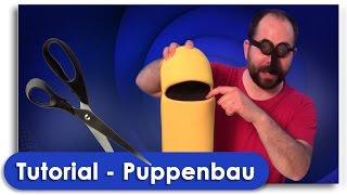 Puppenbau Tutorial - TubeHeads zum selber machen !
