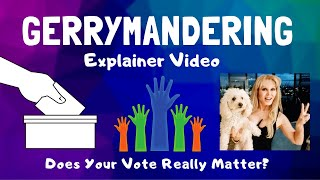 Gerrymandering Explainer / Why Your Vote Matters 👍💙