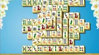 Gameduell - Mahjong / Mahjongg Flowers online spielen 6.700 HD