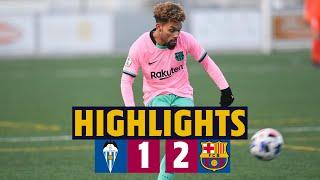 ⚽ HIGHLIGHTS   Alcoyano 1-2 Barça B   Konrad hands blaugranes important win 💪🔥
