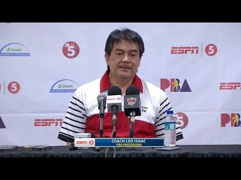 Presscon: Blackwater vs. Phoenix | PBA Philippine Cup 2018