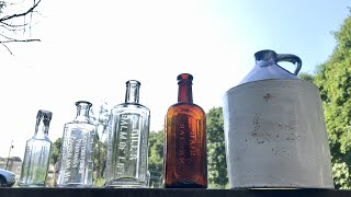 How To Clean Antique Bottles In One Minute! Best And Easiest Method.