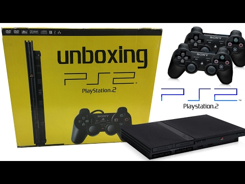 Unboxing PS2 Slim - Deutsch - Das neue Familienmitglied - Classic Console Unboxing