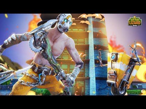 DRIFT FIGHTS PSYCHO & CLAPTRAP!!! - Fortnite X Mayhem