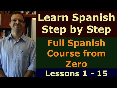 Learn Spanish FREE - Full Spanish course from Zero - YouTube