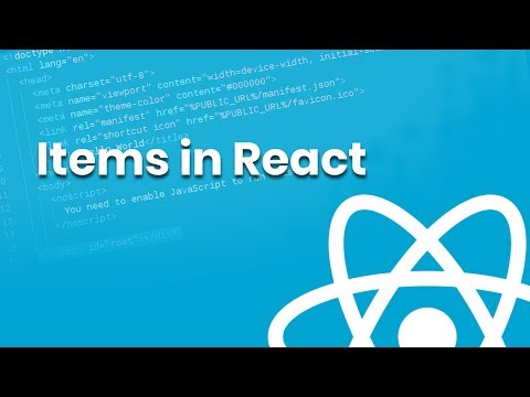Manipulating Text and Items in React | Part 6 | Eduonix