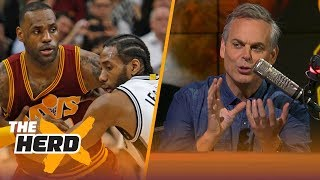 Colin Cowherd on Lakers' new moves to get LeBron, Kawhi and Paul George | NBA | THE HERD