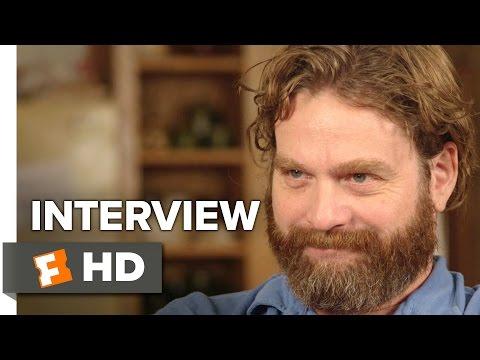 Masterminds Interview - Zach Galifianakis (2016) - Heist Movie
