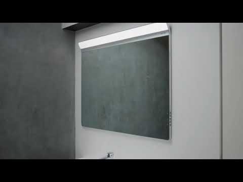 Зеркало Am.Pm Inspire V2.0 (M50AMOX1001SA) (100 см) с LED-подсветкой и системой антизапотевания 8