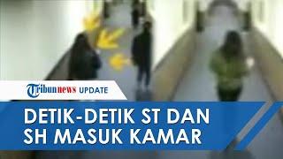 Video CCTV Detik-detik Artis ST dan SH Masuk Kamar Hotel, Muncikari Merupakan Pasutri
