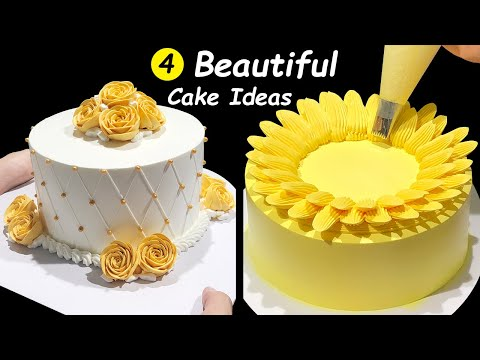How To Make Cake Decorating Tutorials for Beginners | Homemade cake decorating ideas | Cake Design