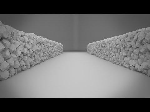 3dsmax Tutorial – Wall of Rocks