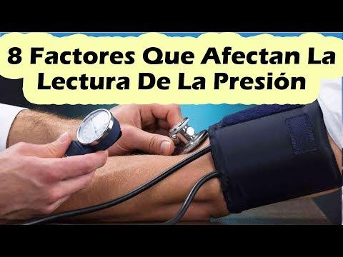 No la presión arterial