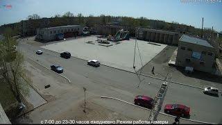 Прямая трансляция Площадь Октябрь г.Курчатов, ВКО, Казахстан